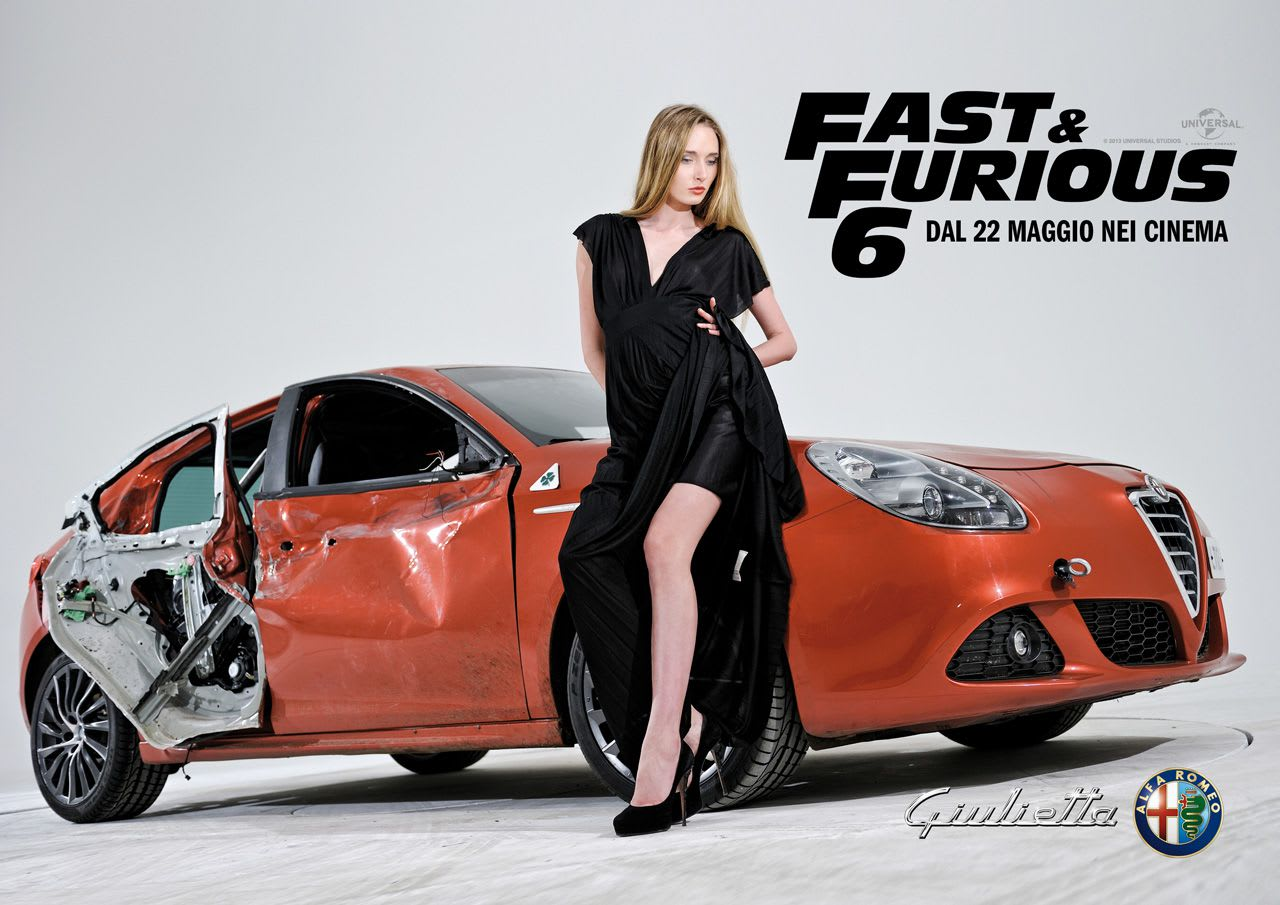Alfa Romeo Giulietta in Fast & Furious 6 Photos